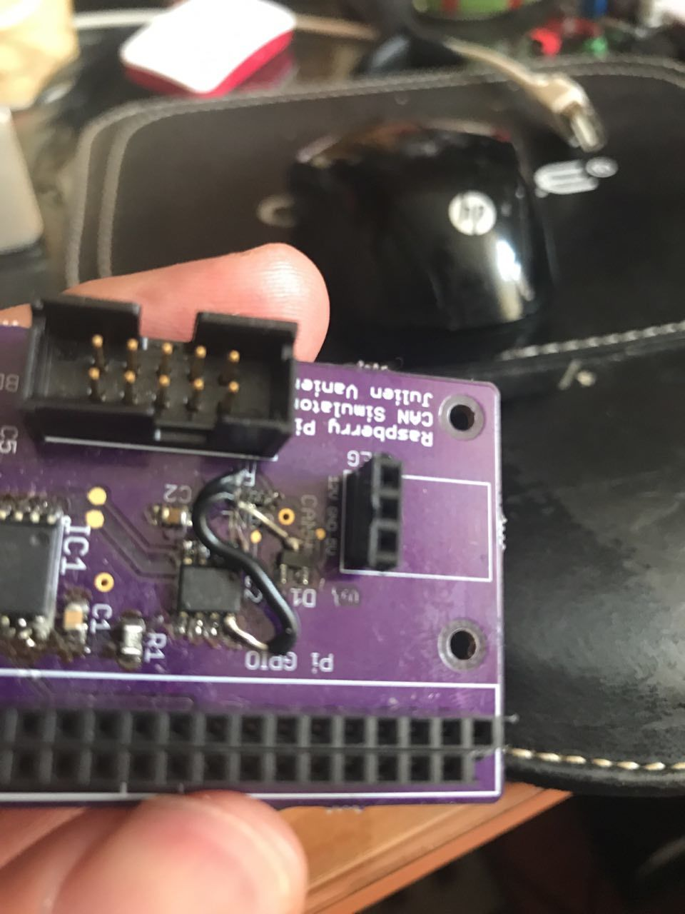 Can simulator: CAN chip not responding - Troubleshooting